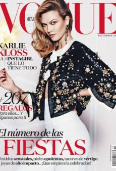 Karlie Kloss and Vogue Mexico Give Us the Festive Cover We Deserve for December (Forum Buzz)