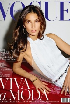 Lily Aldridge Does 'High-Class Escort' on Vogue Spain's January Cover (Forum Buzz)