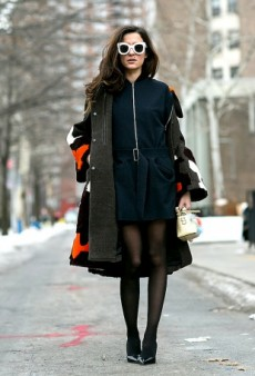 How to Wear Black Tights With Everything