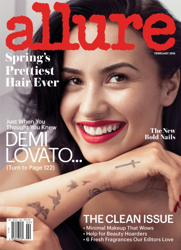 Allure February 2016 : Demi Lovato by Alexi Lubomirski