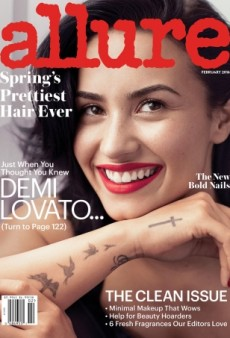Demi Lovato's Tattoos Ruin a Perfectly Good Cover of Allure (Forum Buzz)