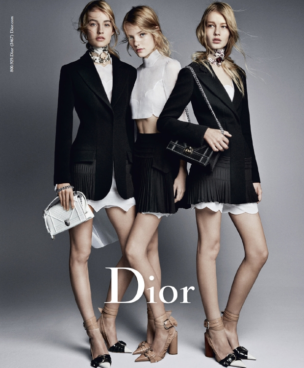 Christian Dior S/S 2016 by Patrick Demarchelier