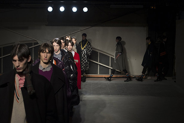 See all the Raf Simons Men's Fall 2016 looks from the runway.