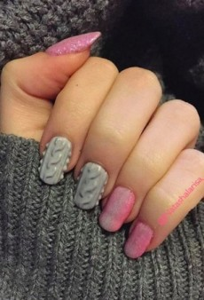 These Sweater Nails Might Be the Best Thing About Winter