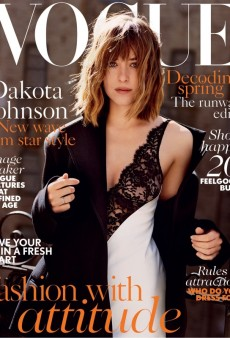 Dakota Johnson (Mostly) Impresses on UK Vogue's February Cover (Forum Buzz)