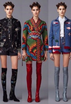 Valentino Keeps the Cultural Appropriation Coming With Bantu Knots for Pre-Fall 2016 Show