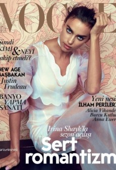 Does This Vogue Turkey Cover Prove Irina Shayk Can't Do High Fashion? (Forum Buzz)