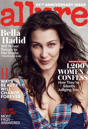 Bella Hadid Manages to Outshine Naomi Campbell on Allure's 25th Anniversary Covers (Forum Buzz)