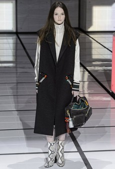 Anya Hindmarch Fall 2016 Runway