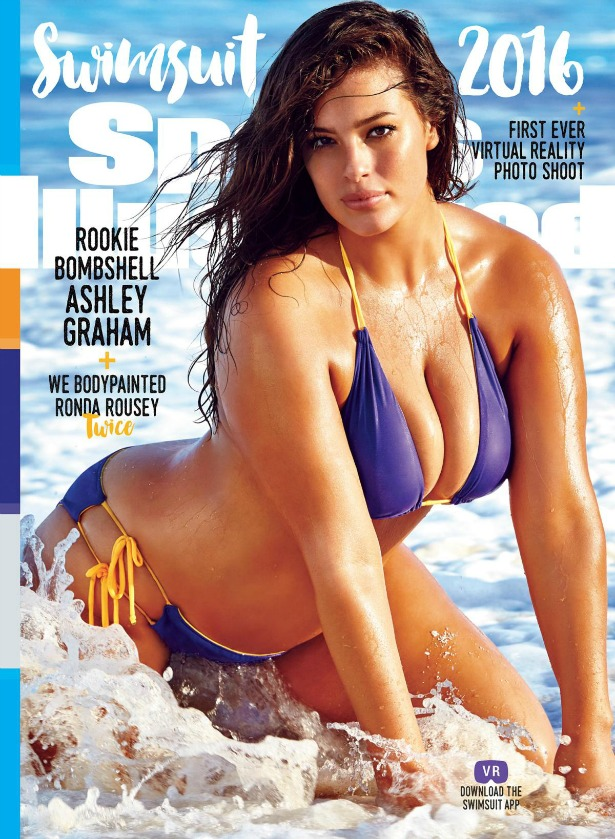 Ashley Graham cover of Sports Illustrated swimsuit edition