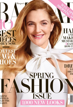There's Something Off About Drew Barrymore's Harper's Bazaar Cover (Forum Buzz)