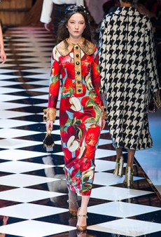 Dolce & Gabbana Fall 2016 Runway