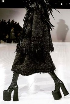 Marc Jacobs Models Risked Their Lives in Towering High Heels