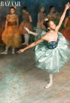 Misty Copeland Recreates Edgar Degas' Iconic Ballerina Paintings for 'Harper's Bazaar'