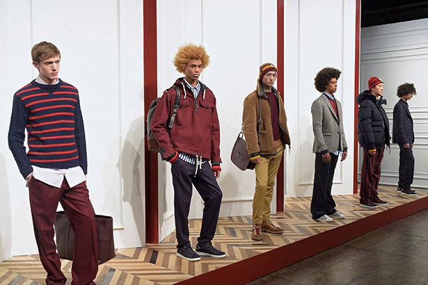 See all the Tommy Hilfiger Men's Fall 2016 looks from the runway.