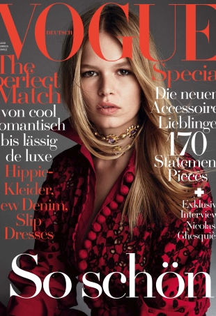 Anna Ewers Looks Stunning (As Usual) on the Cover of Vogue Germany (Forum Buzz)