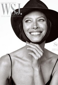 Christy Turlington Burns Is All Smiles on WSJ.'s Delightful March 2016 Cover (Forum Buzz)