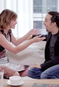 Emma Watson Tries Her Hand at Beatboxing While Hamilton's Lin-Manuel Miranda Freestyles on Feminism