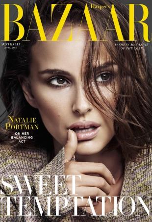 Harper's Bazaar Australia April 2016 : Natalie Portman by Alique