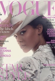 Rihanna Slays on UK Vogue's April 2016 Cover, Announces New Collaboration With Manolo Blahnik (Forum Buzz)