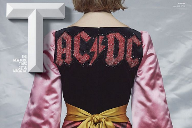 Gucci Incorporates AC/DC Logo Into Fall Fashion Line