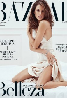This Harper's Bazaar Spain Cover Is the Best We've Seen From Alessandra Ambrosio in Ages (Forum Buzz)
