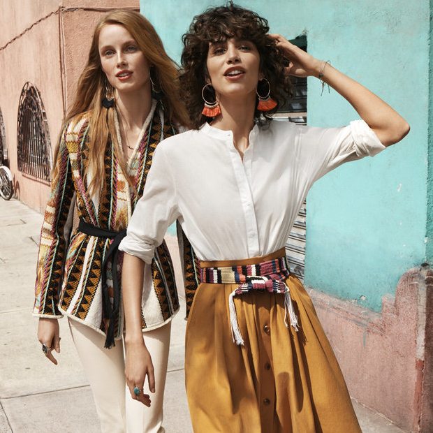 H&M Spring 2016 Campaign Starring Rianne van Rompaey and Mica Arganaraz