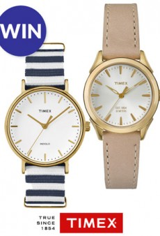 We're Giving Away Two Watches That Are Perfect for Summer!