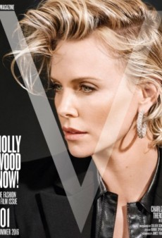 A 'Lifeless' Charlize Theron Stars on V Magazine's Summer 2016 Cover (Forum Buzz)