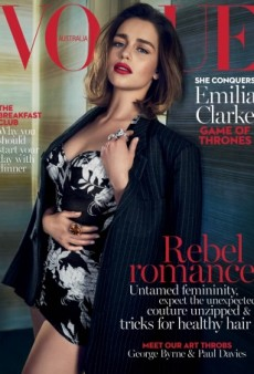 Emilia Clarke Finally Gives Us a Good Cover With a Sultry Pose for Vogue Australia (Forum Buzz)