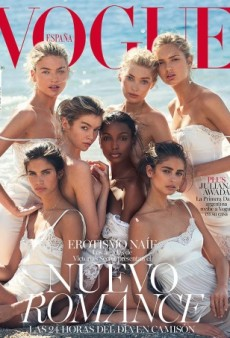 Victoria's Secret Angels Come Together for Vogue Spain's Beautiful May 2016 Cover (Forum Buzz)