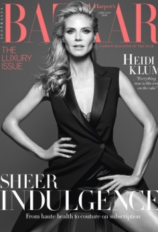 Something Is Off With Heidi Klum's Face on Harper's Bazaar Australia (Forum Buzz)