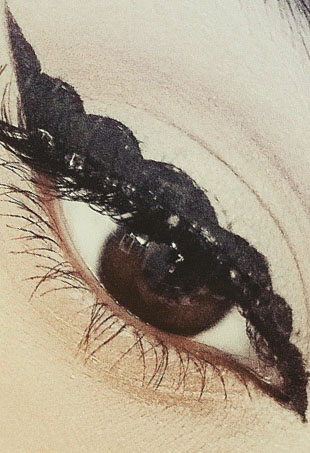 Bubble eyeliner may be the next big thing in beauty, but we doubt it.