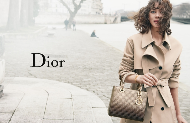 Christian Dior 'Lady Dior' Hanbags S/S 2016 : Marion Cotillard by Peter Lindbergh