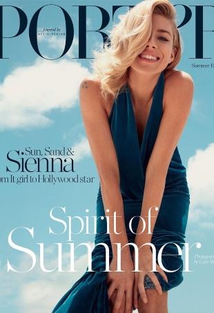 Porter #15 Summer Escape 2016 : Sienna Miller by Cass Bird