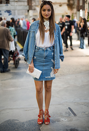 Denim by the Dozen: Australian Fashion Week Cools Down on Our Day 5 Street Style Wrap