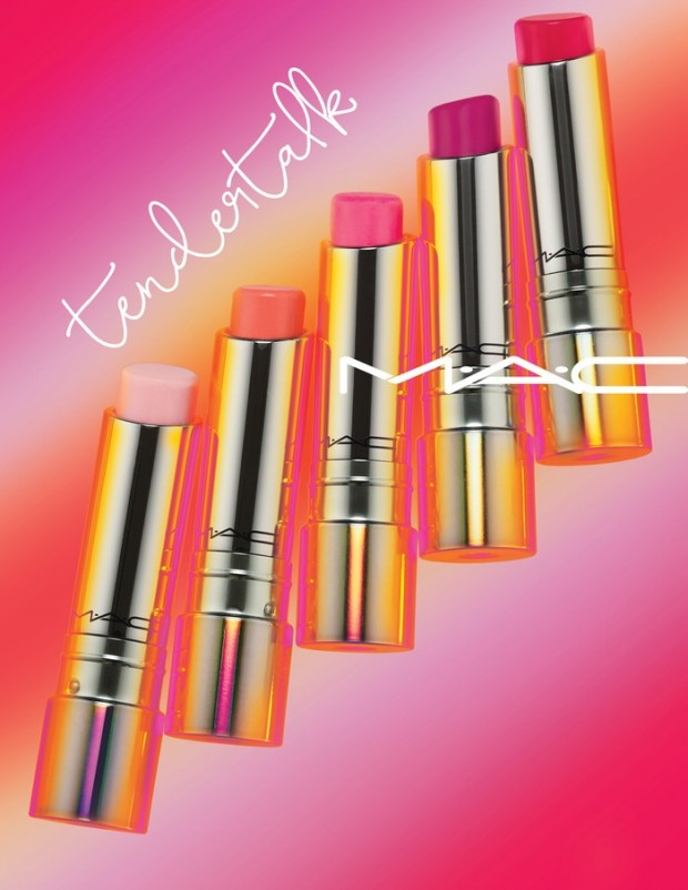 MAC's Tendertalk Lip Balm purportedly transforms color based on your skin's chemistry while hydrating your smile.