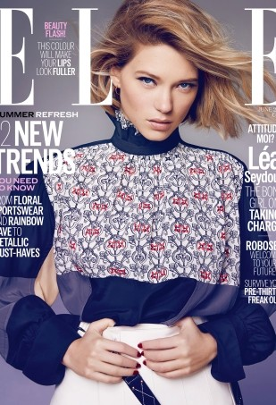 'Overexposed' Taylor Swift Raises Her Guitar for ELLE's June 2015 Cover (Forum Buzz)