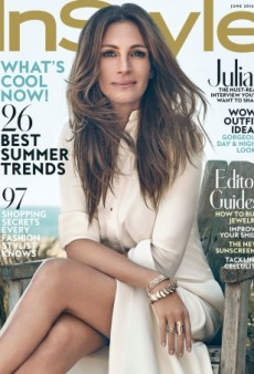 Nothing but Love for This Julia Roberts Cover of InStyle for June 2016 (Forum Buzz)