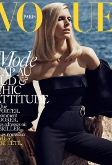 Iselin Steiro Looks Like a True Supermodel on Vogue Paris' Stunning Summer Cover (Forum Buzz)