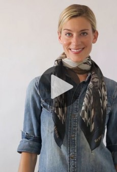 Watch: 10 Super Easy (and Cool) Ways to Tie a Scarf