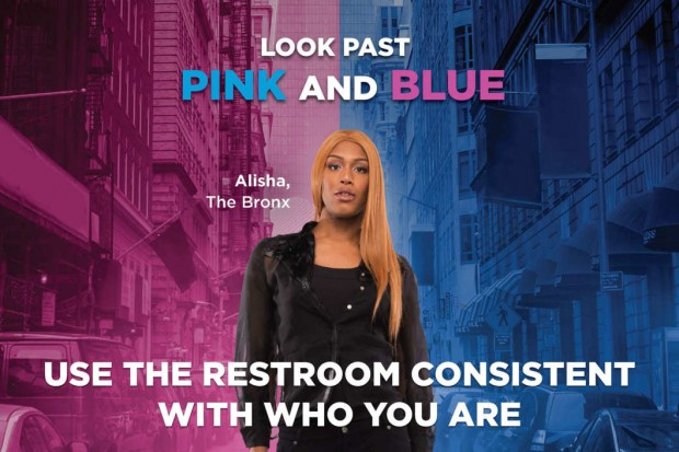 The New York City Commission on Human Rights has launched the first city-government-led initiative promoting transgender bathroom rights, the Be You campaign.