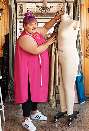 JCPenney's #HereIAm video, starring Ashley Nell Tipton, GabiFresh, Jes Baker and more, celebrates body positivity and the retailer's new plus-size boutique.