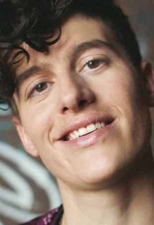 Genderqueer model Rain Dove is one of the stars of Dove's latest #MyBeautyMySay campaign.