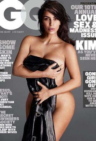 US GQ July 2016 : Kim Kardashian by Mert Alas & Marcus Piggott