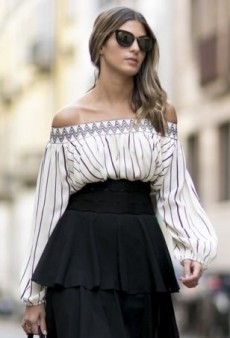 Forget Crop Tops: Off-the-Shoulder Tops Are the Freshest Silhouette to Wear