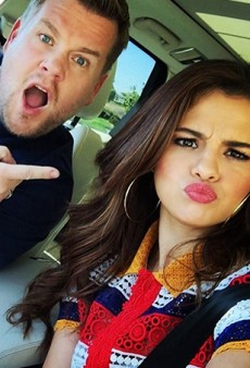 Selena Gomez Takes James Corden on a Thrill Ride in This Week's Carpool Karaoke