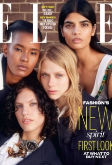 Bhumika Arora Is the Star of UK ELLE's Multi-Model August Cover (Forum Buzz)