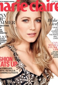 Blake Lively 'Rarely Disappoints' in Print and This Marie Claire Cover Proves It (Forum Buzz)