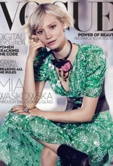 (Mostly) Rave Reviews for Mia Wasikowska's Vogue Australia Cover (Forum Buzz)